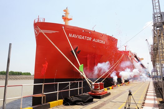 Borealis signed with Navigator Gas for the long-term time charter of the vessel Navigator Aurora
