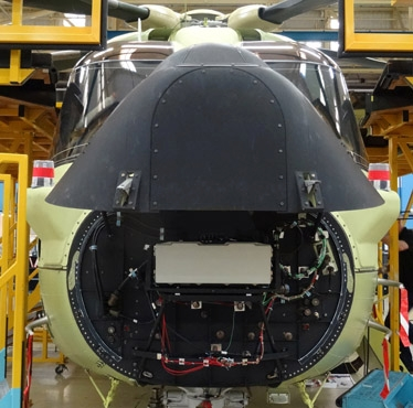 Leonardo-Finmeccanica launched the latest addition to its electronically scanning (E-scan) radar product range - Osprey