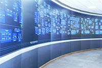 Network management system control room