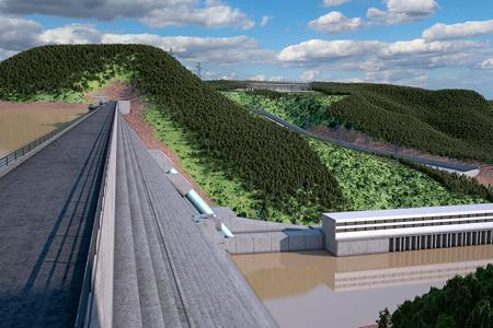 Koysha Dam