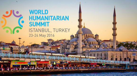 World Humanitarian Summit (WHS) in Istanbul, Turkey