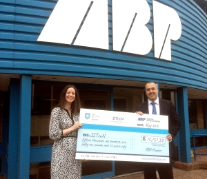 ABP donates £15,000 to the Sheffield Institute for Translational Neuroscience (SITraN)