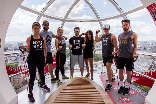 Barry's Bootcamp to host 15 workout classes simultaneously in 15 London Eye capsules on 25th June 2016
