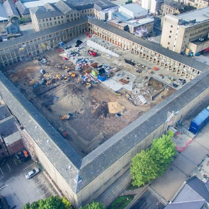 GRAHAM Construction: Repairs to the stonework of the Piece Hall now at an advanced stage