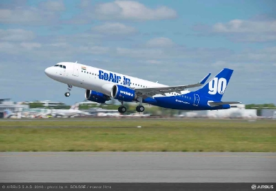 GoAir becomes world's third operator with A320neo aircraft