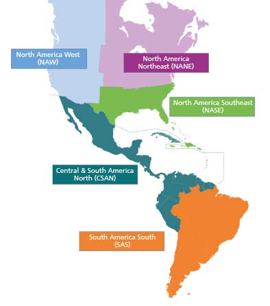 Lloyd's Register to reorganise its operations in the Americas into five operational areas