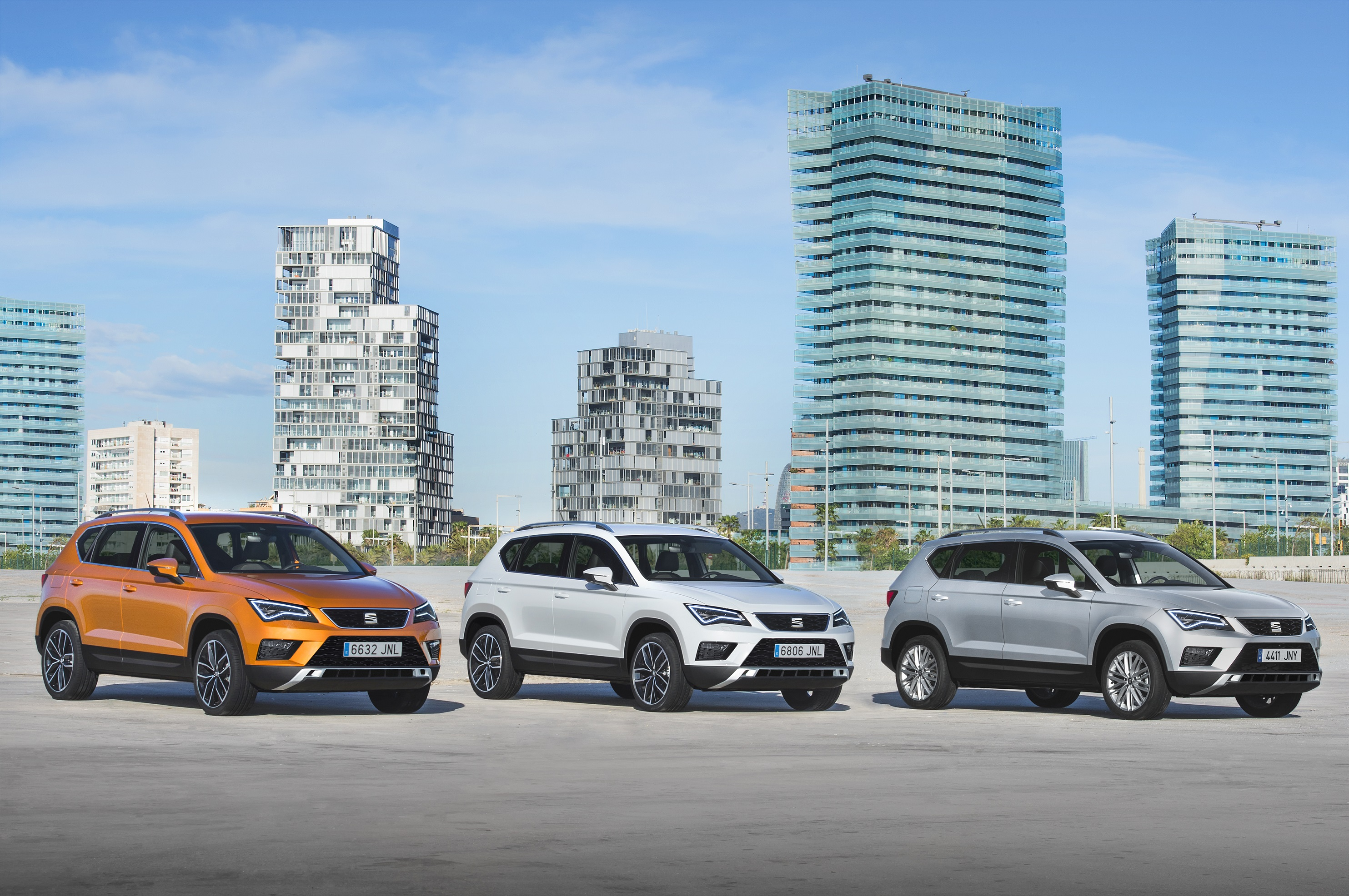 SEAT unveils its first SUV – The new SEAT Ateca