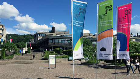 The University of Zurich hosts the IPhO 2016 at Irchel Campus. (Image: UZH)