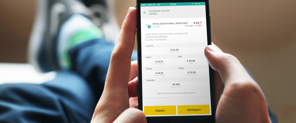 ABN AMRO first major Dutch bank to enable clients to make payments, save and invest in a single Mobile Banking app