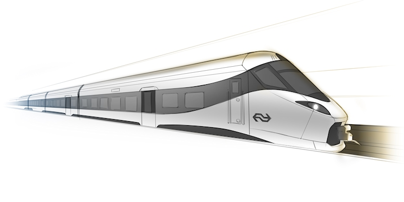 Alstom to supply 79 Intercity New Generation trains to NS for the national network on the Amsterdam-Rotterdam-Breda line and on the Den Haag-Eindhoven corridor