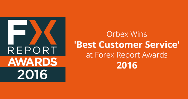 Orbex Recognized As A Leader In Responsible Customer Service