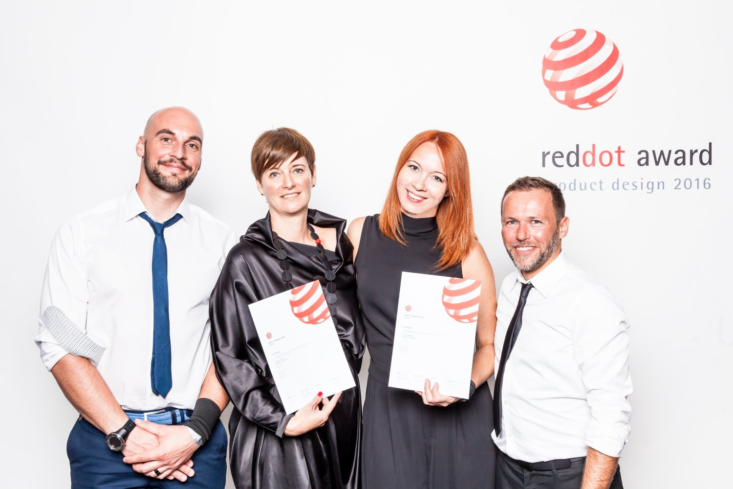 Four prestigious Red Dot design awards for Gorenje Group products this year