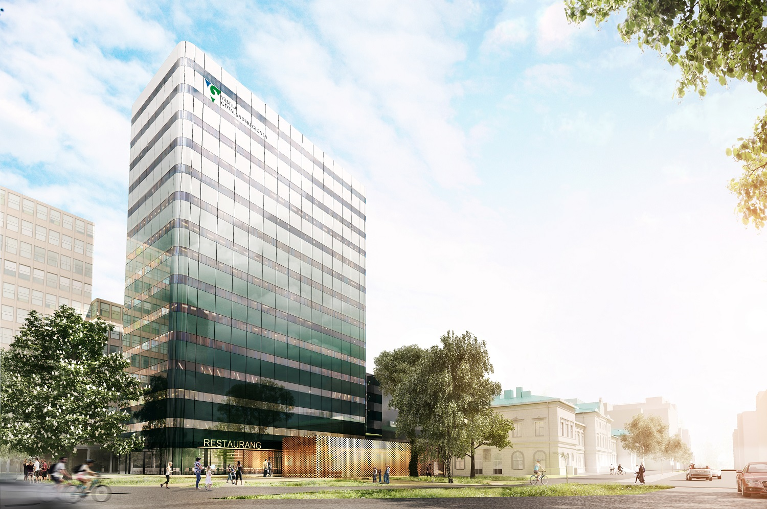 Skanska signs with Västfastigheter for the 2nd phase of the construction of the new Regionens Hus in Gothenburg, Sweden