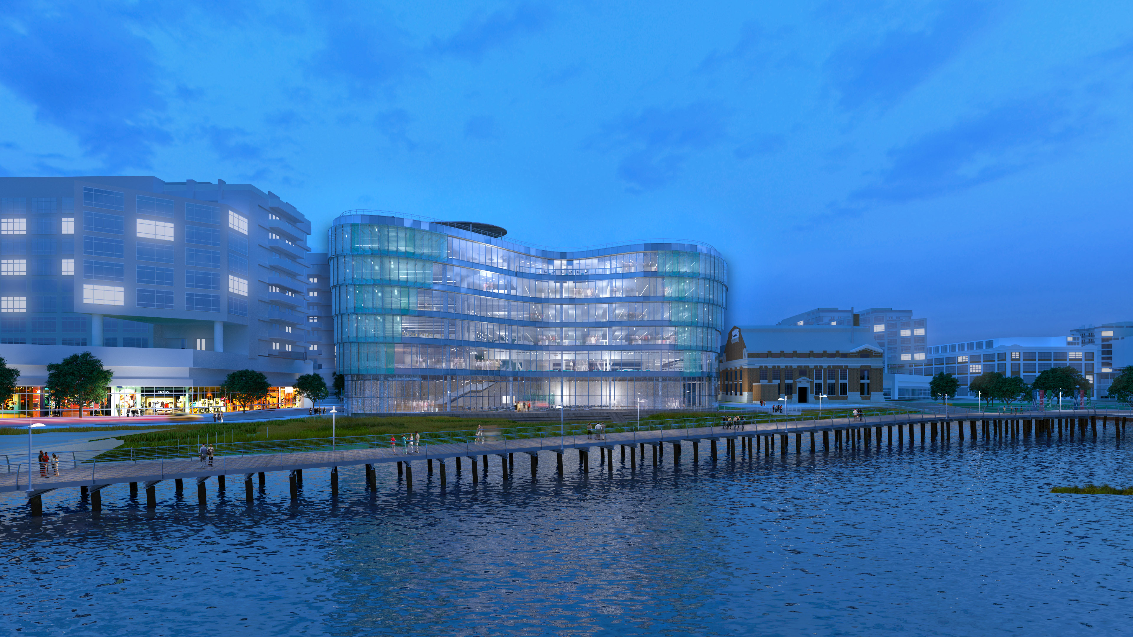 Skanska signs with District of Columbia Water and Sewer Authority to build their new administrative headquarters building in Washington, D.C.