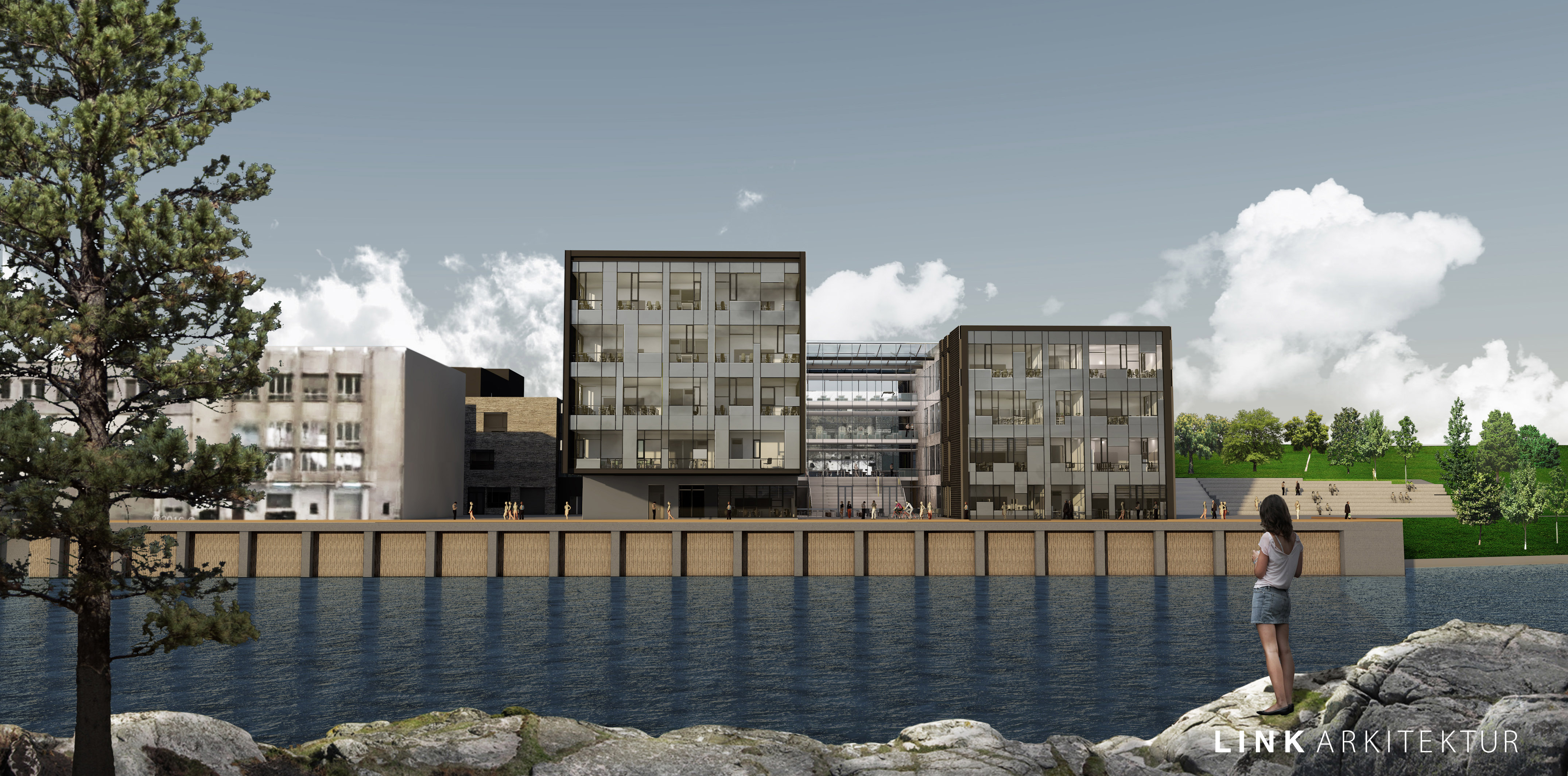 Skanska signs with Telemark county council to build new high school in Skien, Norway