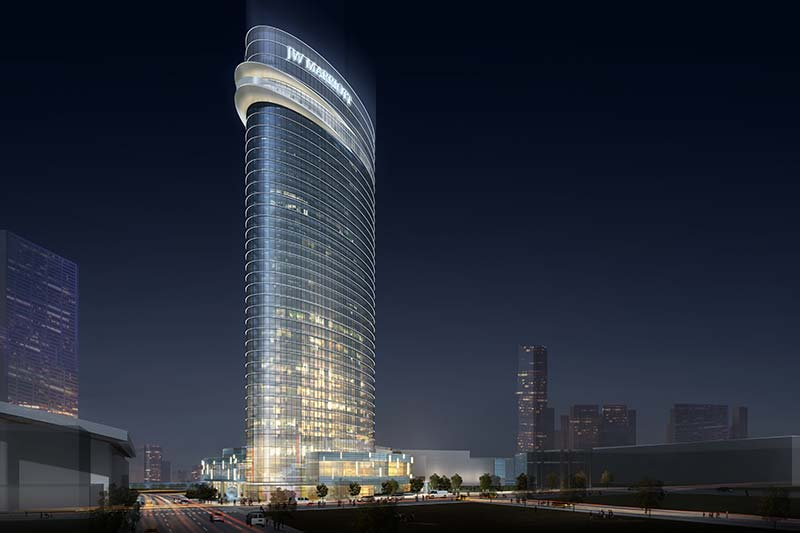 Skanska to manage the construction of new JW Marriott Hotel in Nashville, USA