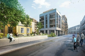 Strøm Gundersen AS selected by Grev Wedels plass AS as contractor to build Doyén Drammen residential project