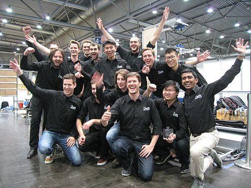 TU Delft engineers won the Amazon Picking Challenge 2016 in Leipzig