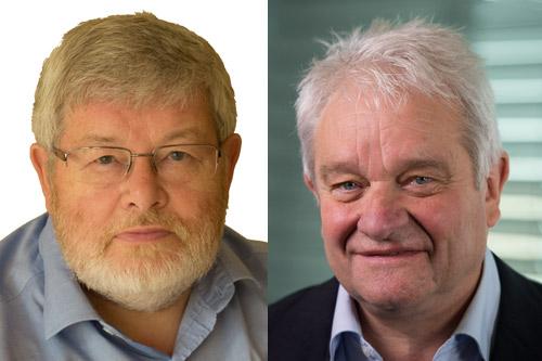 Kelvyn Jones, Professor of Human Quantitative Geography and Sir Paul Nurse Fiona Hanson/AP Images