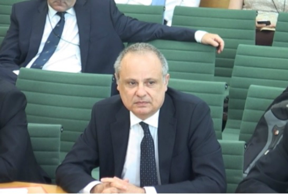 University of Liverpool's Professor Anthony Hollander presented Regenerative Medicine evidence to the House of Commons Science and Technology Committee