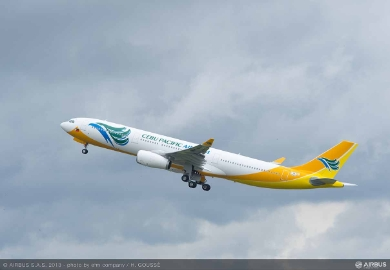 Airbus: Philippines based Cebu Pacific to order two A330-300s