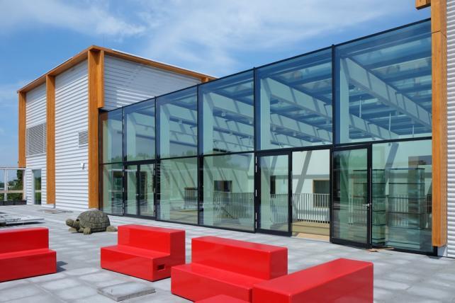 Croonwolter&dros: Het nieuwe gebouw van het 4e Gymnasium in Amsterdam is opgeleverd