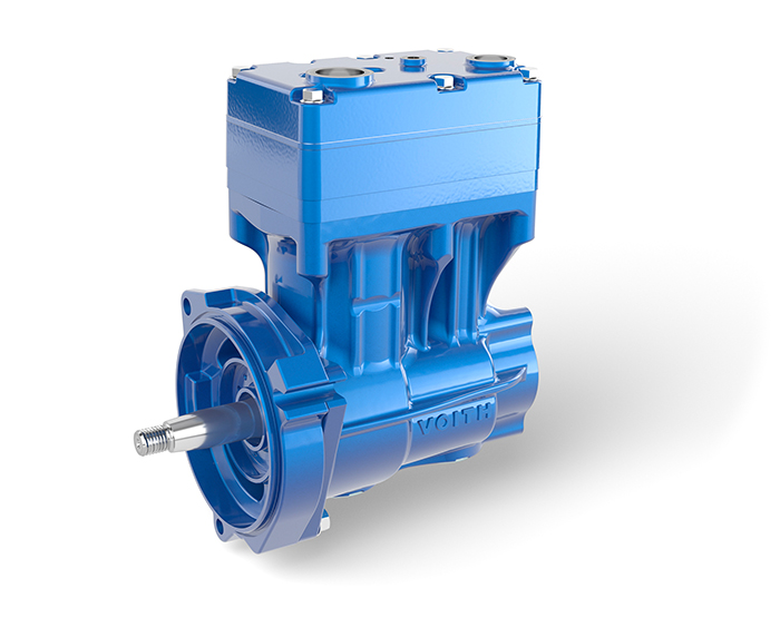 The new Voith air compressor LP 560 with TwinSave technology