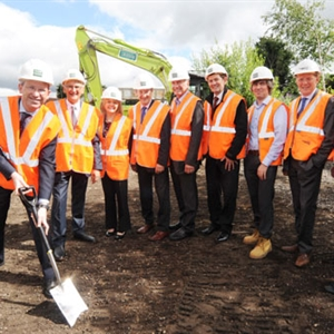 GRAHAM Construction: 'spade in the ground' event marks the start of work on a new rail station for Kenilworth