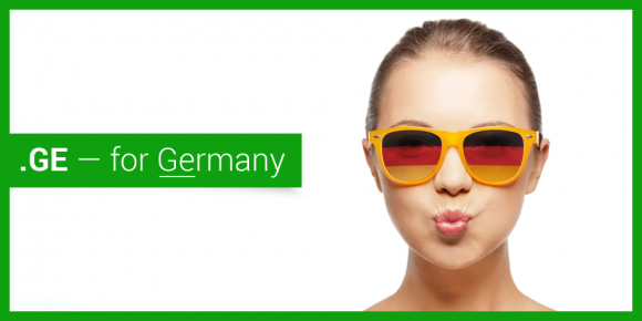 According to GlobalR.com, a domain registry specializing in .GE domains, the entire English-speaking world knows Deutschland as Germany. To them, .DE is irrelevant and Georgia's .GE ccTLD is the obvious choice for native German businesses.
