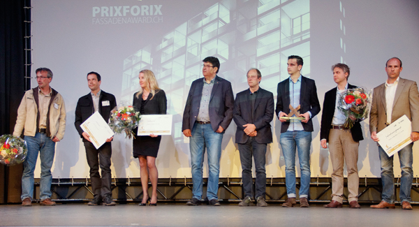 """Lindner Fassaden: Skyscraper Hard Turm Park in Zurich awarded the """"facade industry's Oscar"""""""
