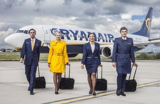 Get your wings with Ryanair