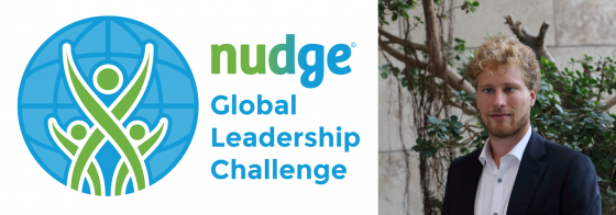 Sander Daniels to give FMO colleagues further insight in their own GHG footprint at the Nudge Global Leadership Challenge (NGLC) program