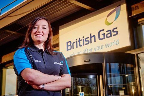 Scottish Gas Engineer Alexander McGregor, who has achieved her Gold Duke of Edinburgh Award