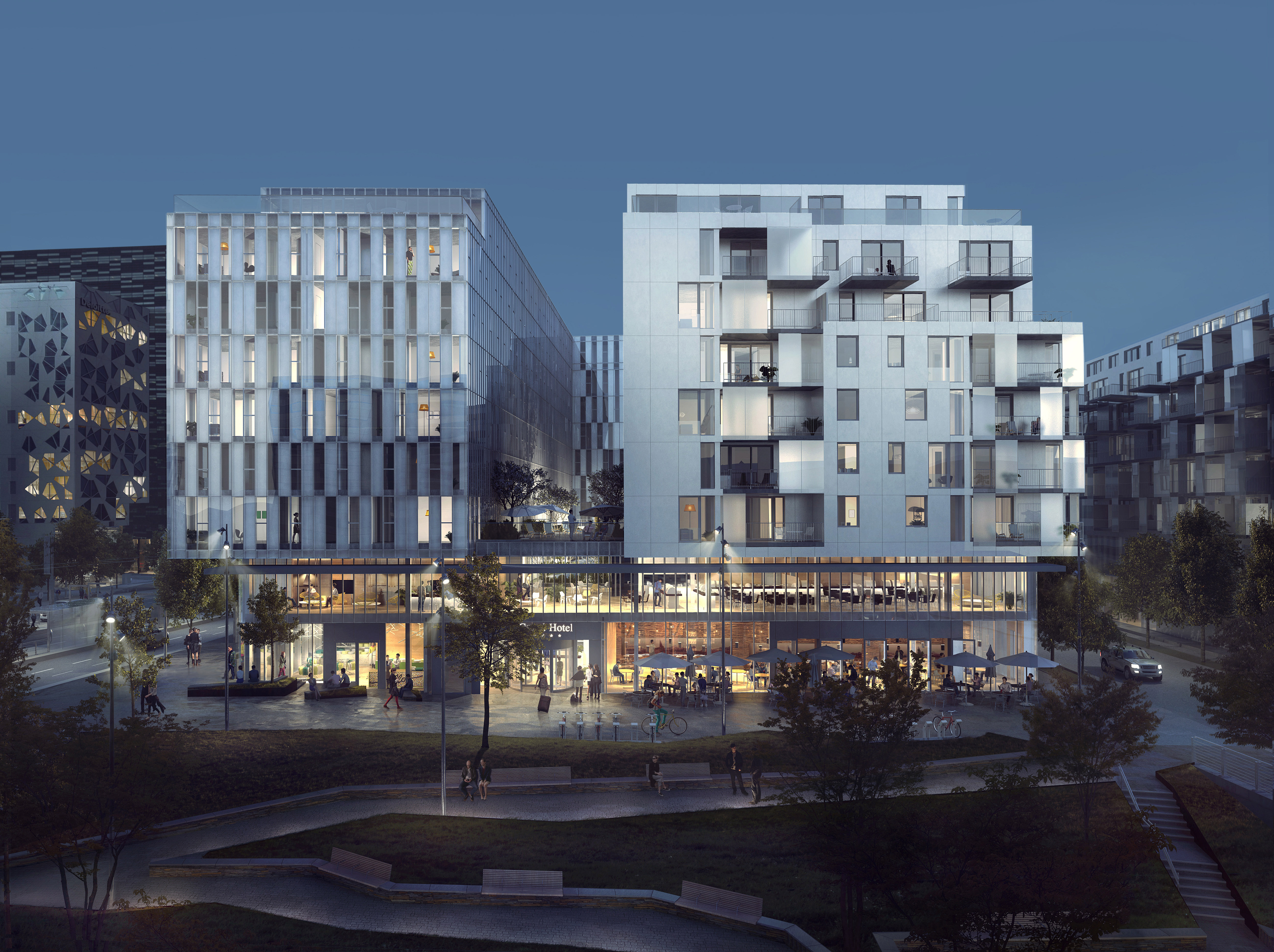 Skanska to build hotel, retail space and apartments in one of Oslo's most sought after areas