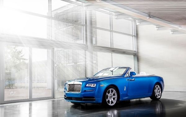 Three of the most highly customised Bespoke Rolls-Royce Dawn motor cars unveiled at The Quail and at the 2016 Pebble Beach Concours d'Elegance
