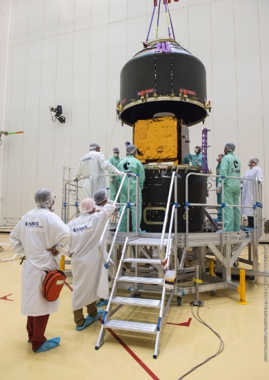 Airbus Defence and Space announces Peru's first satellite PerúSAT-1 ready for launch on 16 September 2016