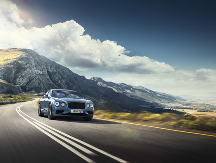 Bentley Motors blends luxury, style and power in the new four-door Flying Spur W12 S