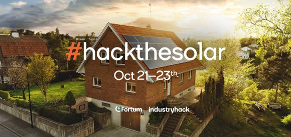 "Fortum invites organisations to take part in the ""Hack the Solar"" hackathon on 21–23 October"