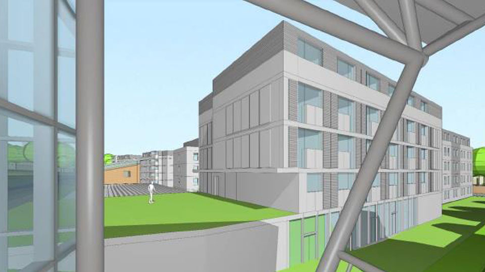 Loughborough University unveils plans for sport-specific accommodation for elite athletes on campus