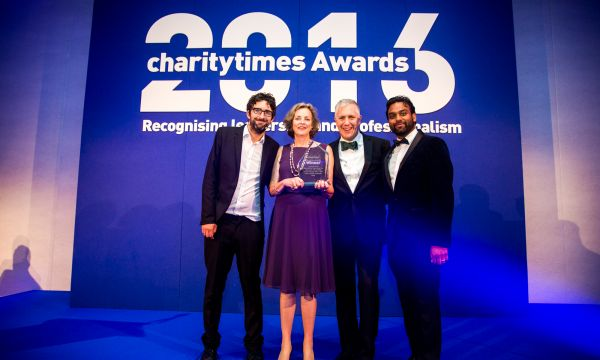 Samaritans' and rail industry's suicide prevention programme chosen as the CSR Project of the Year at the Charity Times Awards