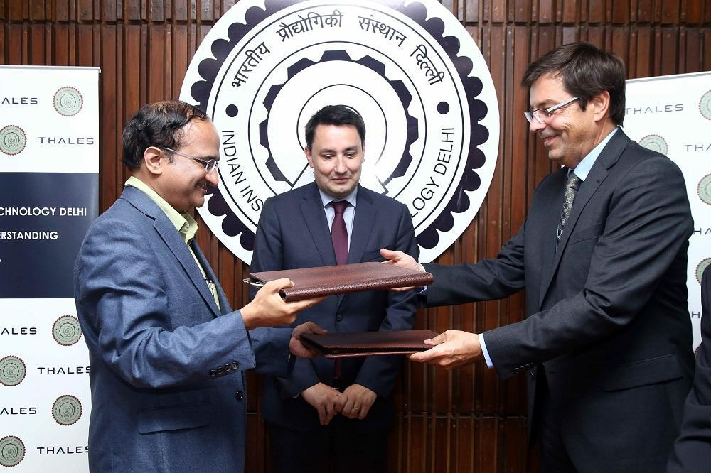 Thales and Indian Institute of Technology to create jointly supervised IIT Delhi-CNRS PhD fellowship programme