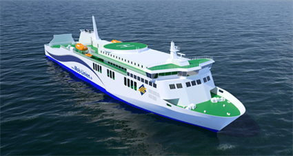 Two Wärtsilä 31 engines to power new 158 metre long car and passenger ferry built for Danish operator Mols-Linien