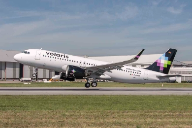 Volaris becomes the first operator of the Airbus A320neo in North America