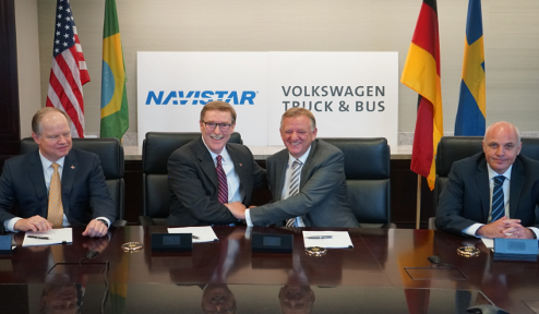 Volkswagen Truck & Bus forms alliance with Navistar for strategic technology and supply cooperation and a procurement joint venture