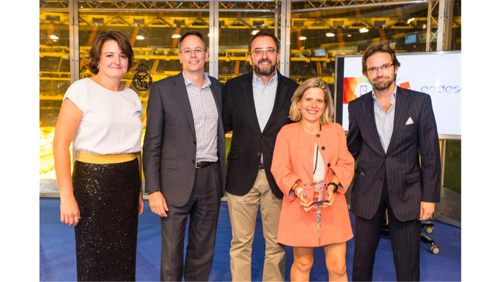 Endesa awarded CRC Gold Award for best Ecommerce strategy by Spanish Association of Experts in customer relations (AEERC)