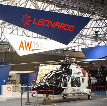 Leonardo-Finmeccanica attending Helitech International 2016 - the most important helicopter exhibition in Europe