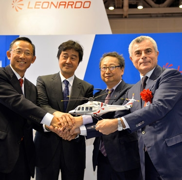 Leonardo-Finmeccanica shows continued strength in all civil helicopter markets: New orders from Switzerland, Japan and Germany