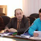 Judges are discussing some human trafficking cases, Astana, 19 October 2016 (OSCE/Aigul Seralinova)