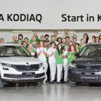 Series production of ŠKODA's new large SUV model KODIAQ begins in Kvasiny plant