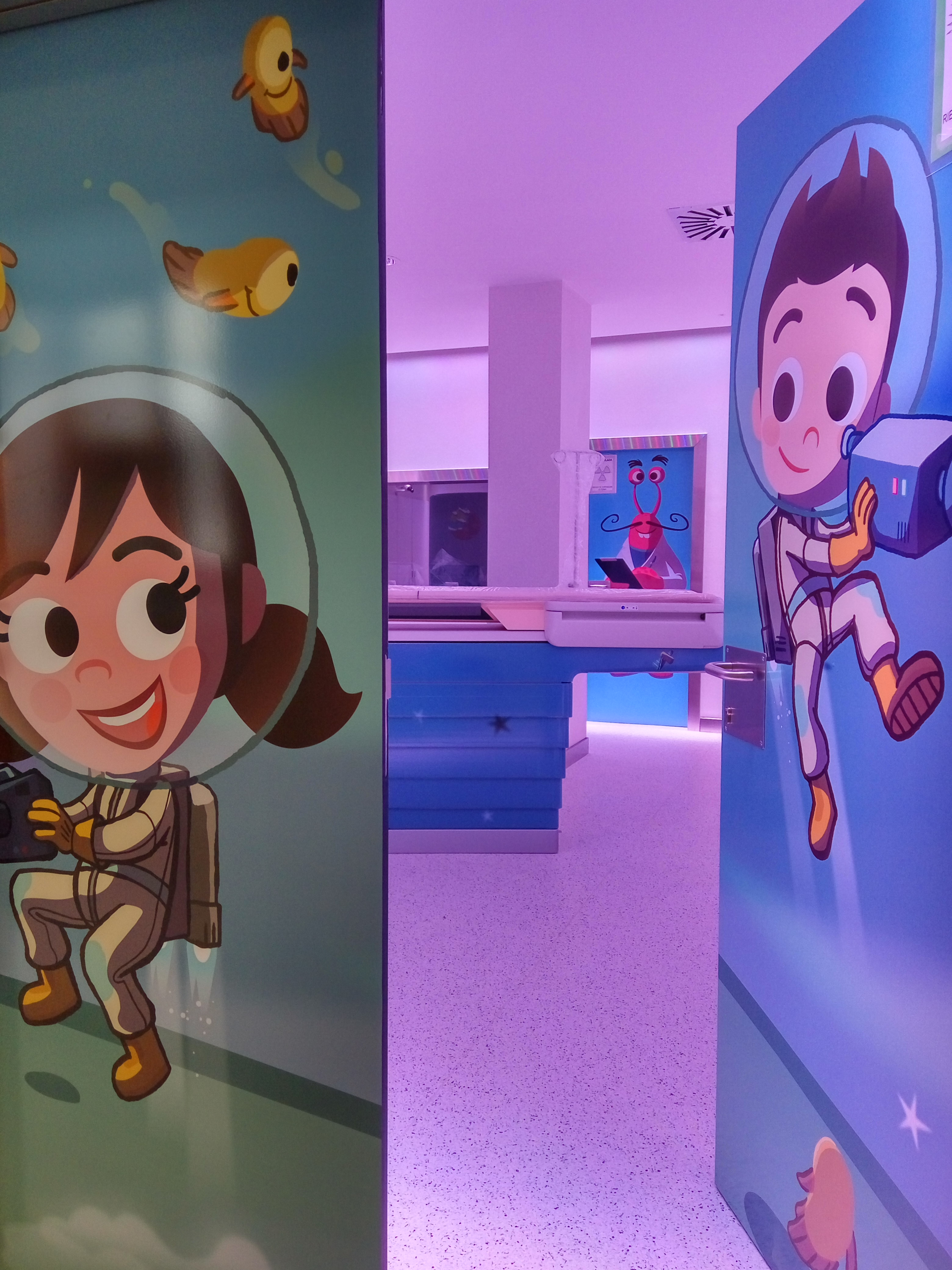 The Philips Foundation, CurArte Foundation and Hospital Vall d´Hebrón to improve the experience children have during diagnostic imaging tests